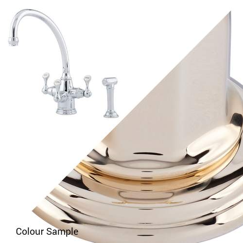 Perrin & Rowe 1520 ETRUSCAN Filtration Mixer Kitchen Tap with Rinse