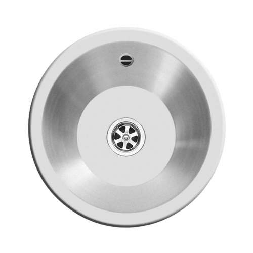 Clearwater Royal Mini Inset Round Single Bowl Sink