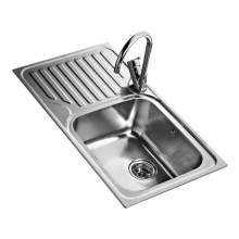 Teka Classic 1B 1D 86 45 Single Bowl Kitchen Sink with Drainer