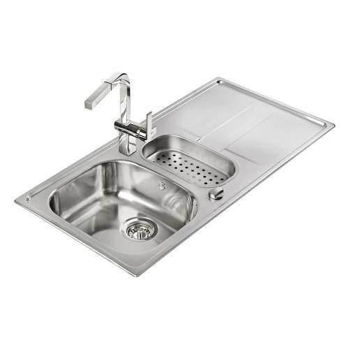 Teka Stena 60 1.5B 1D 1.5 Bowl Kitchen Sink with Drainer