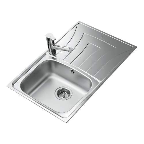 Teka Universo 1B 1D 79 1.0 Bowl Compact Kitchen Sink with Drainer