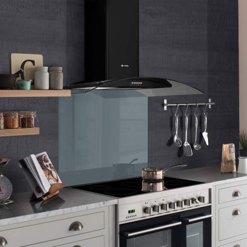 Caple 90cm Glass Full-Height Curved Splashback