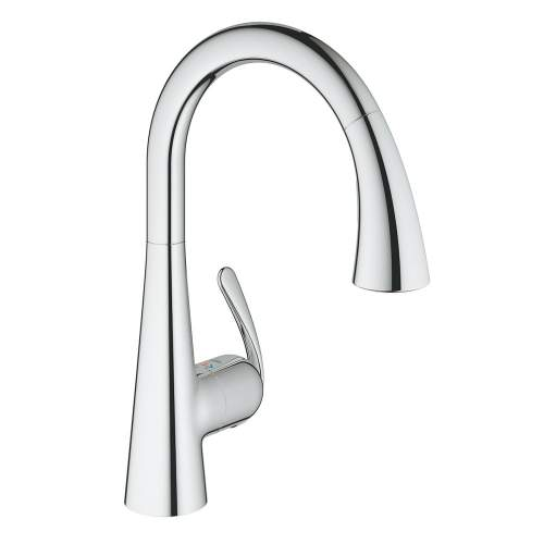 Grohe Zedra Single Lever Tap with Pull-Out Spray