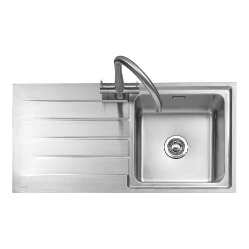 Caple Rello 100 Single Bowl Inset Kitchen Sink
