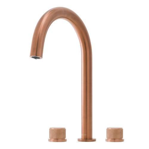 Caple Joya 3 in 1 3 Part Steaming Hot Water Tap in Copper