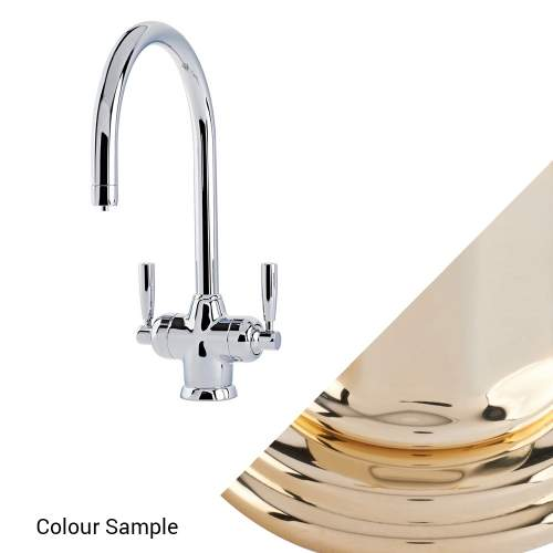 Perrin and Rowe Mimas 1435 Filter Mixer Tap with C-Spout