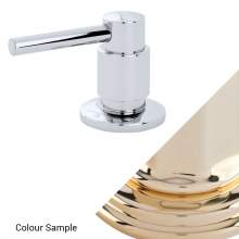 Perrin and Rowe 6395 Orbiq Deck Mounted Soap Dispenser