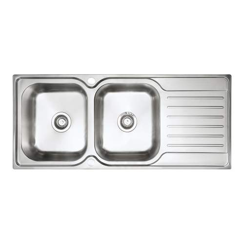 Bluci RUBUS 200 Stainless Steel Double Bowl Kitchen Sink