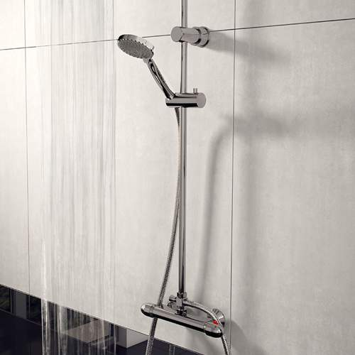 Lagos Round Style Thermostatic Shower Kit