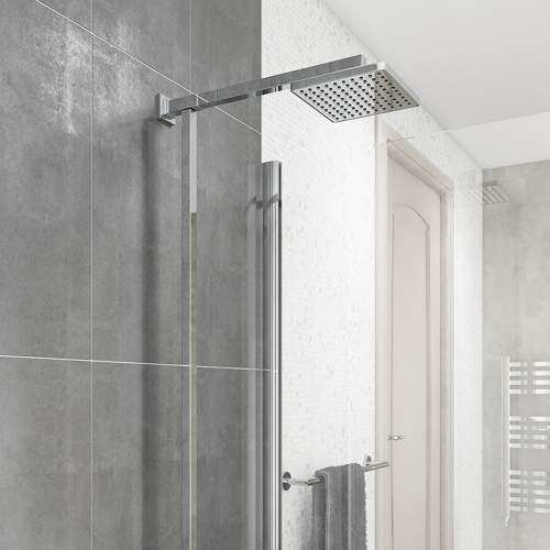 Term Square Thermostatic Shower Set