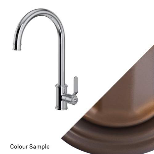 Perrin and Rowe Armstrong 4512HS Single Lever Tap with Smooth Handle