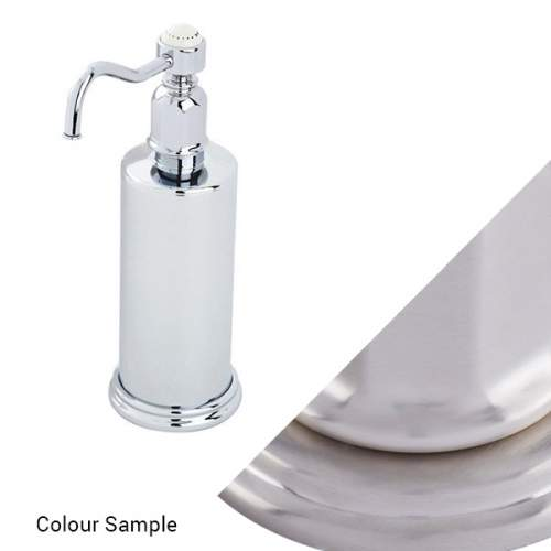 Perrin and Rowe 6933 Traditional Freestanding Soap Dispenser