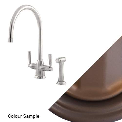 Perrin and Rowe 4485 Metis Sink Mixer with Rinse