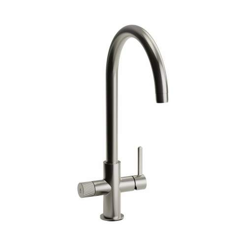 Abode AT2043 Puria Aquifier Water Filter Kitchen Tap in Brushed Nickel
