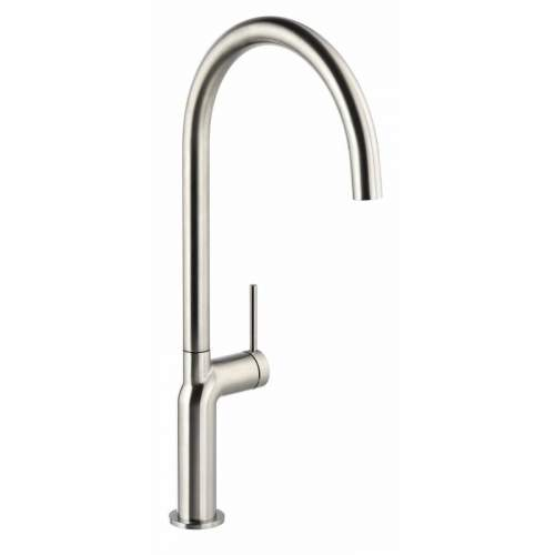 Abode Tubist AT2127 Single Lever Kitchen Tap in Brushed Nickel