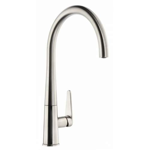 Abode Coniq R AT2116 Single Lever Kitchen Tap in Brushed Nickel