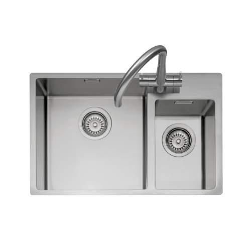 Caple MODE 175 1.5 Bowl Stainless Steel Inset or Undermount Kitchen Sink
