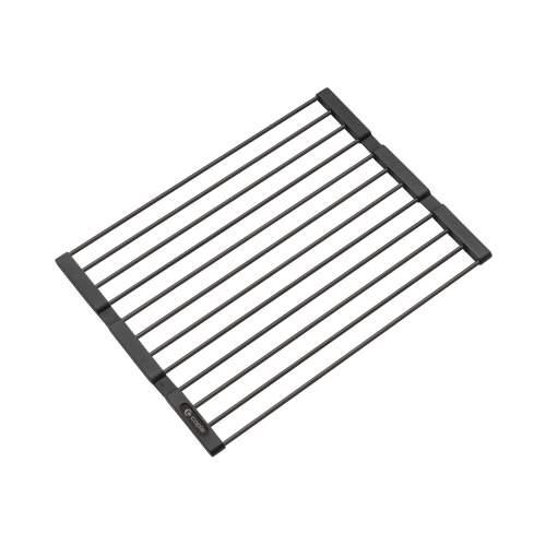 Caple Universal Stainless Steel Fold Mat in Black Steel