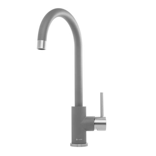 Caple ASPEN Stainless Steel and Granite Kitchen Tap in Pebble Grey
