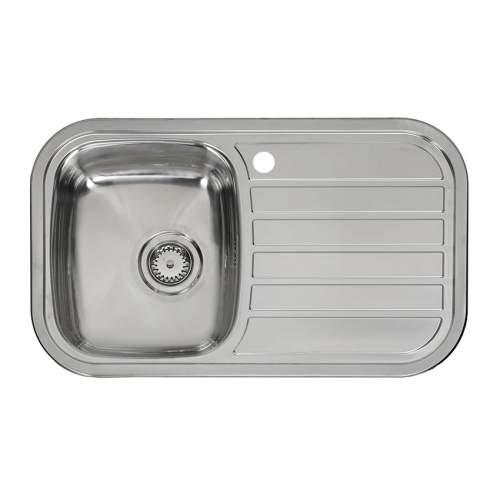 Reginox REGENT 10 LUX Single Bowl Kitchen Sink