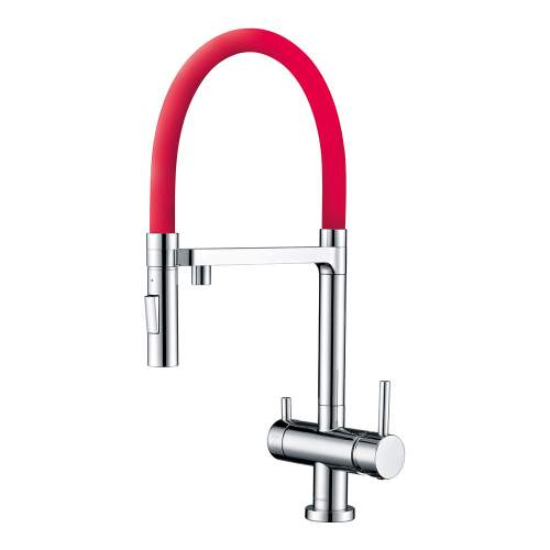 Clearwater Bellatrix Chrome Professional Filter Tap with Detachable Spout
