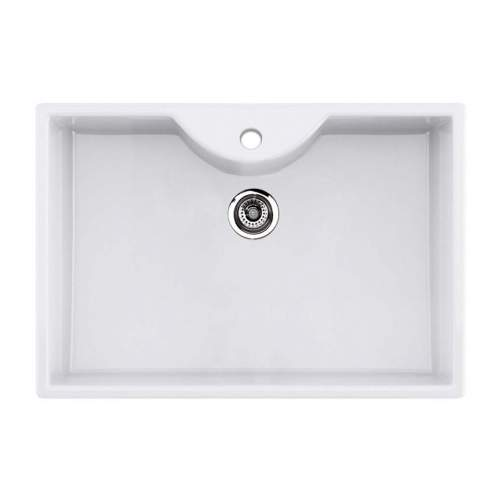 Thomas Denby Legacy 800T Ceramic Butler Sink with Tap Ledge