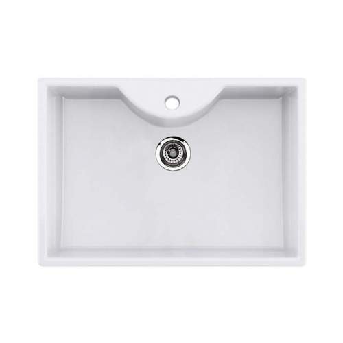 Thomas Denby Legacy 600T Ceramic Butler Sink with Tap Ledge