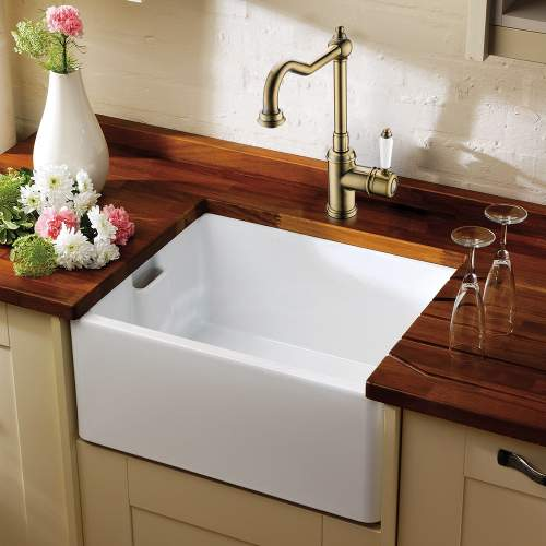 Clearwater Tiberius Traditional Single Lever Kitchen Tap