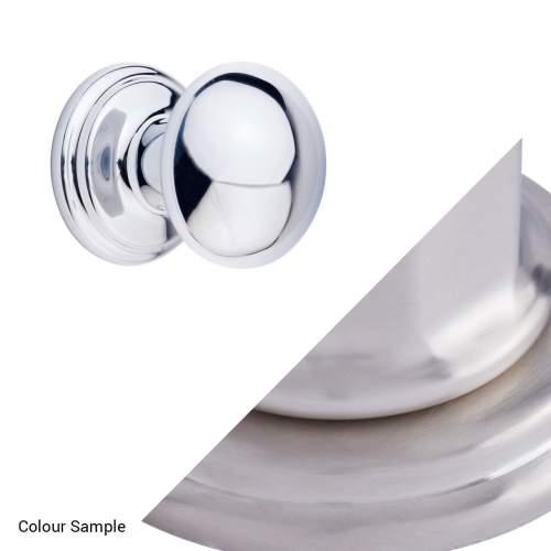 Perrin & Rowe 6081 Small Button Furniture Drawer Handle (Single)