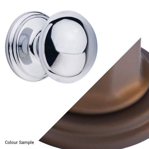 Perrin & Rowe 6080 Large Button Furniture Drawer Handle (Single)