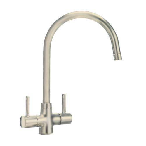 Carron Phoenix Alba Twin Lever WRAS Approved Kitchen Tap