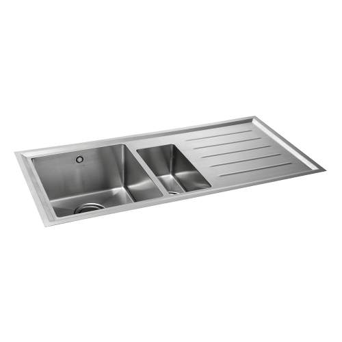 Carron Phoenix Vela 150 1.5 Bowl Flushmount Kitchen Sink