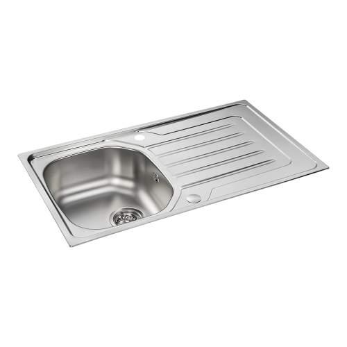 Carron Phoenix Onda 90 Inset Single Bowl Kitchen Sink