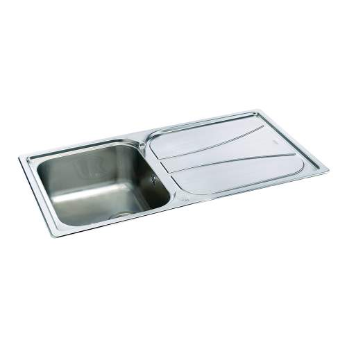 Carron Phoenix Zeta 90 Inset Single Bowl Kitchen Sink