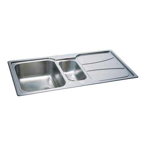 Carron Phoenix Zeta 150 Inset 1.5 Bowl Kitchen Sink