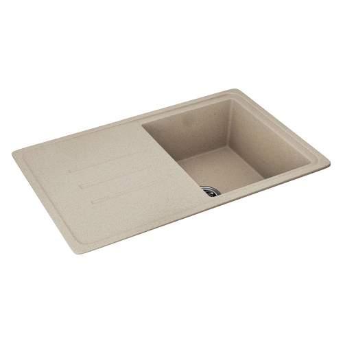 Carron Phoenix Debut 100 Single Bowl Inset Granite Kitchen Sink