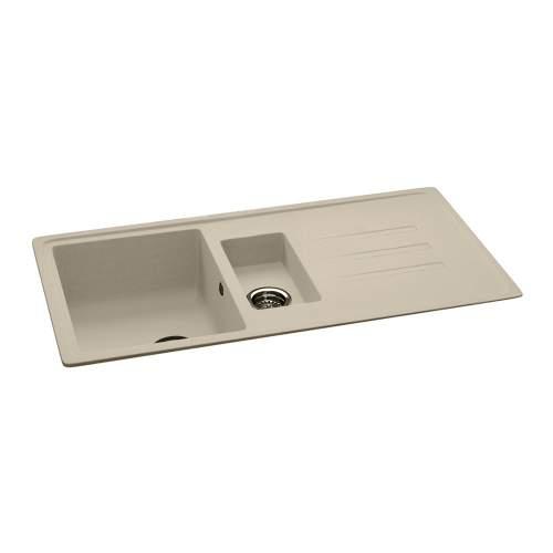 Carron Phoenix Debut 150 1.5 Bowl Inset Granite Kitchen Sink