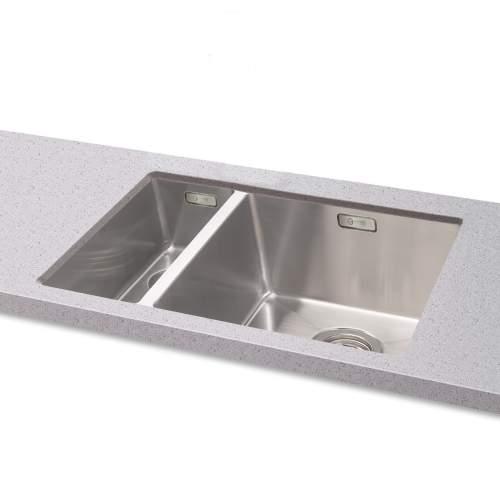 Carron Phoenix Deca 150 Undermount 1.5 Bowl Kitchen Sink