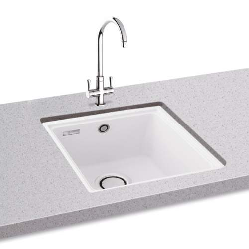 Carron Phoenix Fiji 90 Undermount Single Bowl Granite Sink