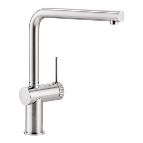 Abode Fraction Single Lever Kitchen Tap in Brushed Nickel AT2153