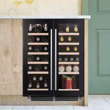 Caple Sense Wi6235 Undercounter Dual Zone Wine Cabinet