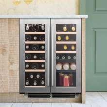 Caple Classic Wi6234 Undercounter Dual Zone Wine Cabinet