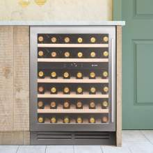 Caple Classic Wi6135 Undercounter Dual Zone Wine Cabinet