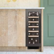 Caple Sense Wi3125GM Gunmetal Undercounter Single Zone Wine Cabinet