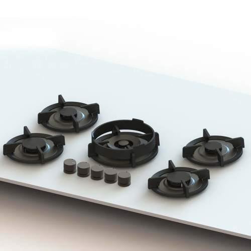 Novy Gas Pro ELBRUS 5 PITT Individual Burner Gas Hobs
