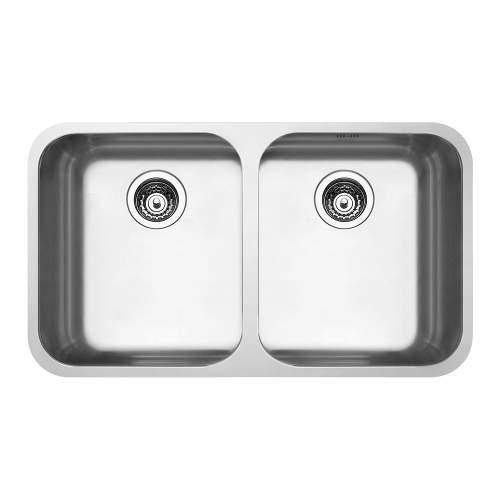 Smeg Alba UM4545 Undermount 2.0 Bowl Kitchen Sink