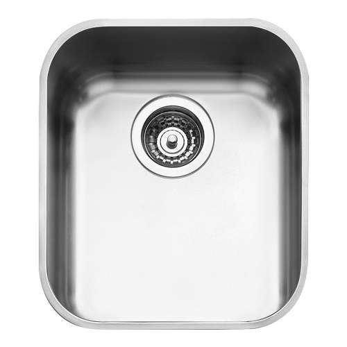 Smeg Alba UM40 Undermount Single Bowl Kitchen Sink