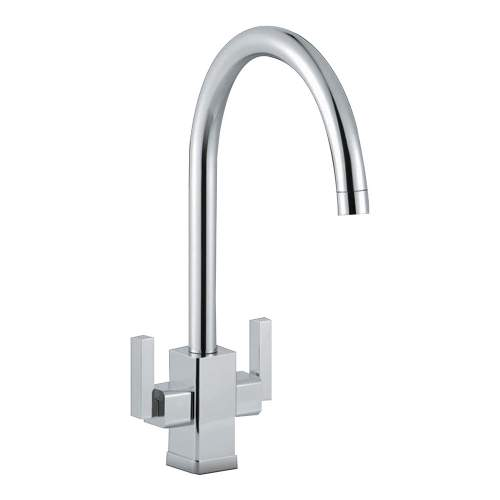 Smeg Modena Dual Lever WRAS Approved Kitchen Tap