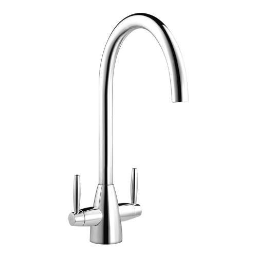 Smeg Miro Twin Lever WRAS Approved Kitchen Tap