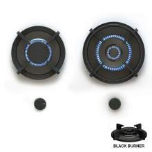 Novy Gas Pro BELY 2 PITT  Individual Gas Hobs